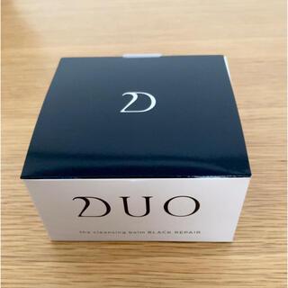 新品未使用10/25購入 DUOデュオクレンジングバーム ブラック