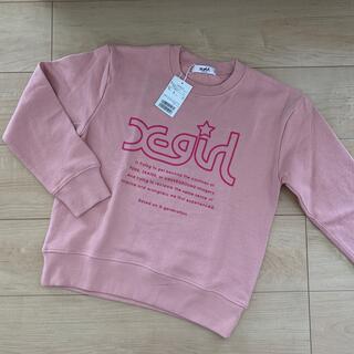 エックスガールステージス(X-girl Stages)のx-girl トレーナー 140(Tシャツ/カットソー)