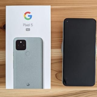 Google Pixel - Google Pixel 5 128GB 美品 5G SIMフリー
