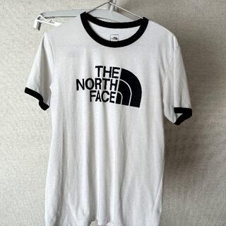 THE NORTH FACE - 【中古・古着】THE NORTH FACE 半袖Tシャツ M ホワイト
