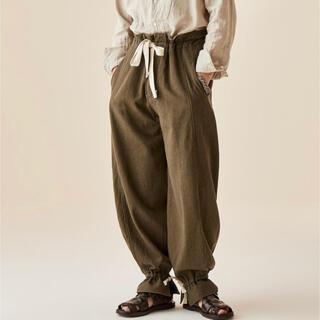 COMOLI - sus-sous trousers work