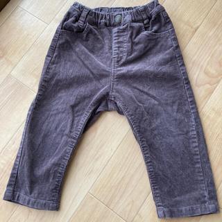 ブリーズ(BREEZE)のアプレレクール  コーデュロイ パンツ 90cm こげ茶色(パンツ/スパッツ)