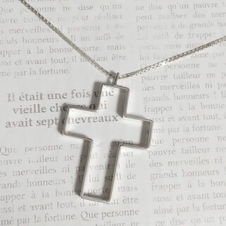 Gucci - グッチ ネックレス クロス 十字架 シルバー SV925 ベネチアンチェーン ☆