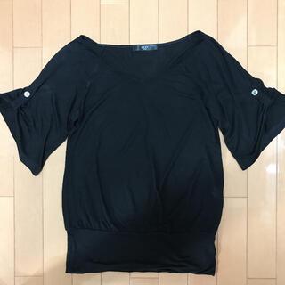 VICKY - ビッキー  半袖シャツ M トップス レディース  黒ブラック
