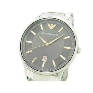 エンポリオアルマーニ(Emporio Armani)の未使用 正規品 エンポリオアルマーニ 腕時計 メンズ 43mm グレー(腕時計(アナログ))