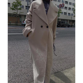 Ameri VINTAGE - 【新品未使用】EMBROIDERY BIG COLLAR COAT