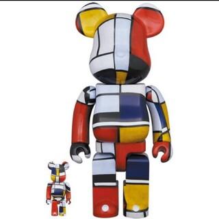 ベアブリック 100% 400% ピエトモンドリアン Piet Mondrian