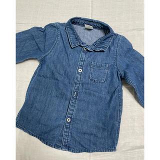 エイチアンドエム(H&M)のH&M エイチアンドエム ダンガリーシャツ 80(シャツ/カットソー)