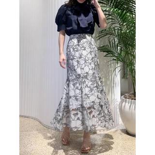 snidel - 【SNIDEL】【正規品】カッティングレースマーメイドスカート