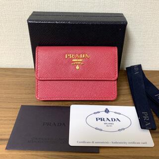 PRADA - 未使用品⭐︎PRADA カードケース ピンク