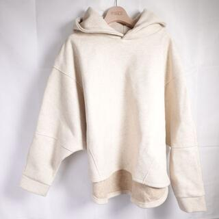 ELLA hoodie poncho レディース アイボリー
