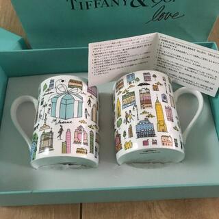 Tiffany & Co. - *~ Tiffany 5th アベニュー ペアマグカップ 日本製