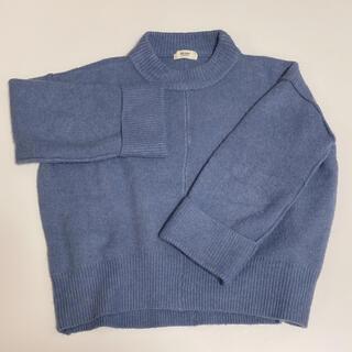 ビームス(BEAMS)のBEAMS HEART ビームスハート ブルー ニット セーター(ニット/セーター)