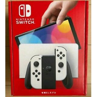 Nintendo Switch - 新型 Nintendo Switch  有機ELモデル ホワイト 本体