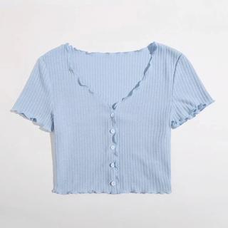 ショート丈シャツ