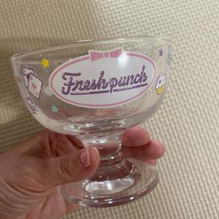 サンリオ(サンリオ)のフレッシュパンチ♡デザートグラス(グラス/カップ)