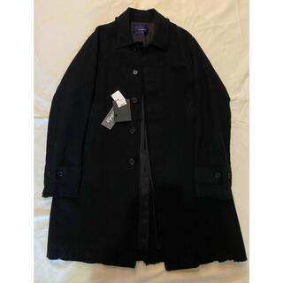 UNDERCOVER - john undercover 裁ち切り ステンカラーコート サイズ2 ブラック