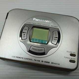 Panasonic - Panasonic ステレオラジオカセットプレーヤー RQ-SX80V