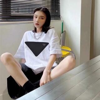 PradaTシャツ[2枚8000円]プラダ半袖送料込み  R109#