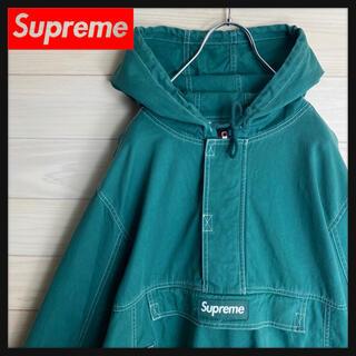 Supreme - 【希少デザイン】シュプリーム☆センターロゴ入りコットンジャケット 人気カラー