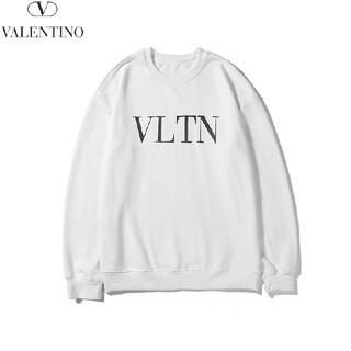 VALENTINO - 【2点7500円数量限定】VLTN#HKC100905 ロゴ付き スウェット白