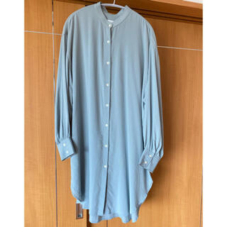 ローリーズファーム(LOWRYS FARM)のバンドカラーチュニックシャツ(シャツ/ブラウス(長袖/七分))