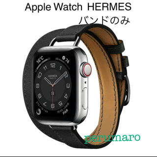 Hermes - ◆Apple Watch Hermès ◆アトラージュ・バンド40mm 黒