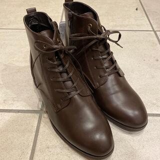 アシックス(asics)の新品未使用 茶色ブーツ(ブーツ)