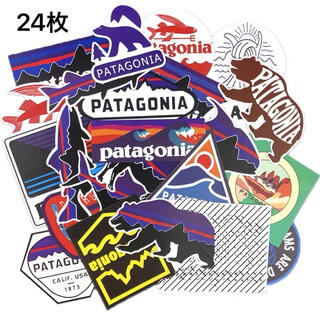 パタゴニア(patagonia)の★発送補強★パタゴニア アウトドア キャンプ 防水ステッカー計24枚セット (その他)
