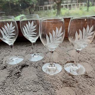 フラハワイ ワイングラス 4個セット オアフ
