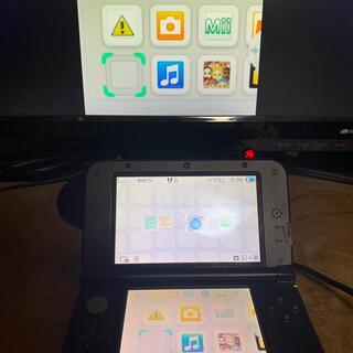 ニンテンドー3DS - 3DS LL 本体 ブラック 偽トロ キャプチャー