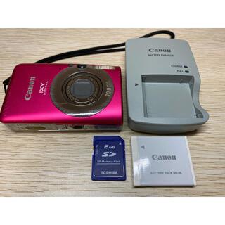 Canon - キヤノン Canon IXY110IS デジカメ SDカード付