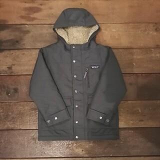 パタゴニア(patagonia)のパタゴニア キッズ インファーノジャケット ボア アウター グレー キッズ XS(ジャケット/上着)