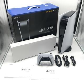 SONY - 動作品 ソニー PS5 本体 デジタルエディション ドライブなし