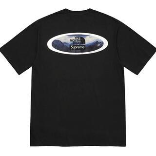 Supreme - Supreme ノースフェイス Mountains Tシャツ Black M 黒