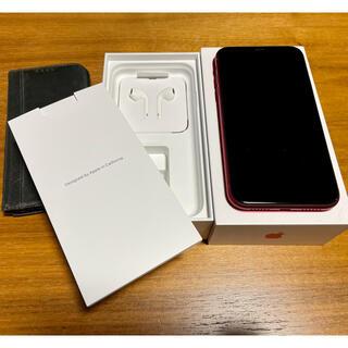 iPhone - iPhone XR RED 64 GB SIMフリー レッド