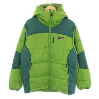 パタゴニア(patagonia)のパタゴニア ダスパーカ 中綿ジャケット フード S 緑 グリーン(その他)