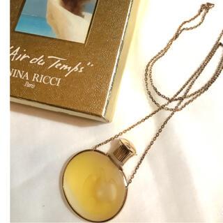 ニナリッチ(NINA RICCI)のニナリッチ *香水ネックレス(ラリック製ボトル)(その他)