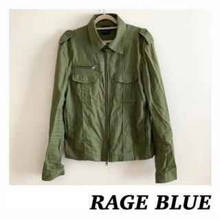 レイジブルー(RAGEBLUE)の【used】RAGE BLUE♤レイジブルー ミリタリージャケット メンズ M(ミリタリージャケット)