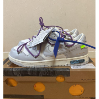 off-white×NIKE DUNK LOW 48/50 27cm