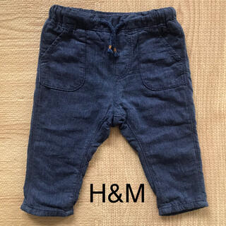 エイチアンドエム(H&M)のH&M パンツ 裏地あり 60 70(パンツ)