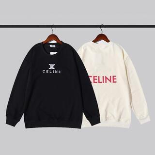 celine - 2枚12000/CELINE パーカー 男女兼用#V19