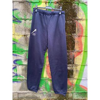 1LDK SELECT - Reverse Etavirp Sweat Pants Navy×Silver