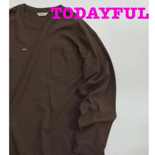 TODAYFUL - TODAYFUL トゥデイフル★ソルト&シュガー Tシャツ 長袖 ロンT