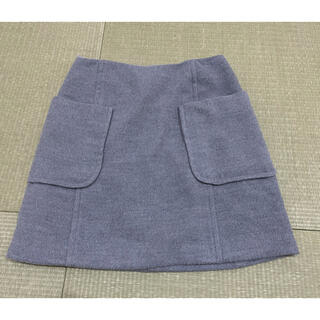 ロペピクニック(Rope' Picnic)のロペピクニック ミニスカート グレー 秋ファッション 冬ファッション(ミニスカート)