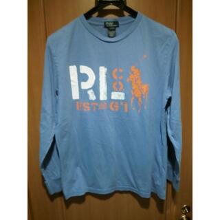 ラルフローレン(Ralph Lauren)のポロ ラルフローレン ビッグポニー プリントロンT オールドタグ(Tシャツ/カットソー(七分/長袖))