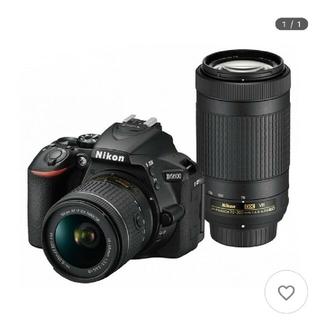 Nikon - 美品 Nikon D5600ダブルズームキット デジタルカメラ