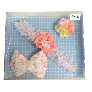ミキハウス(mikihouse)の新品 ミキハウス お花モチーフヘアアクセサリー3点セット(その他)