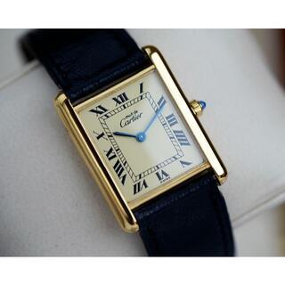Cartier - 美品 カルティエ マスト タンク アイボリー ローマン LM Cartier