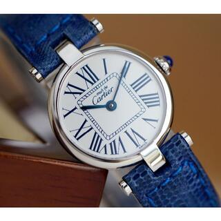 Cartier - 美品 カルティエ マスト ヴァンドーム オパラン シルバー ローマン SM